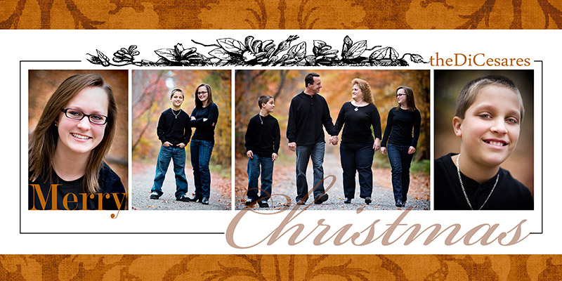 custom designed christmas cards - Collage Christmas Cards
