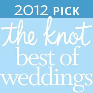the Knot Best Of Weddings '12 Winner