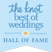 the Knot Hall of Fame Inductee & Best Of Weddings Winner