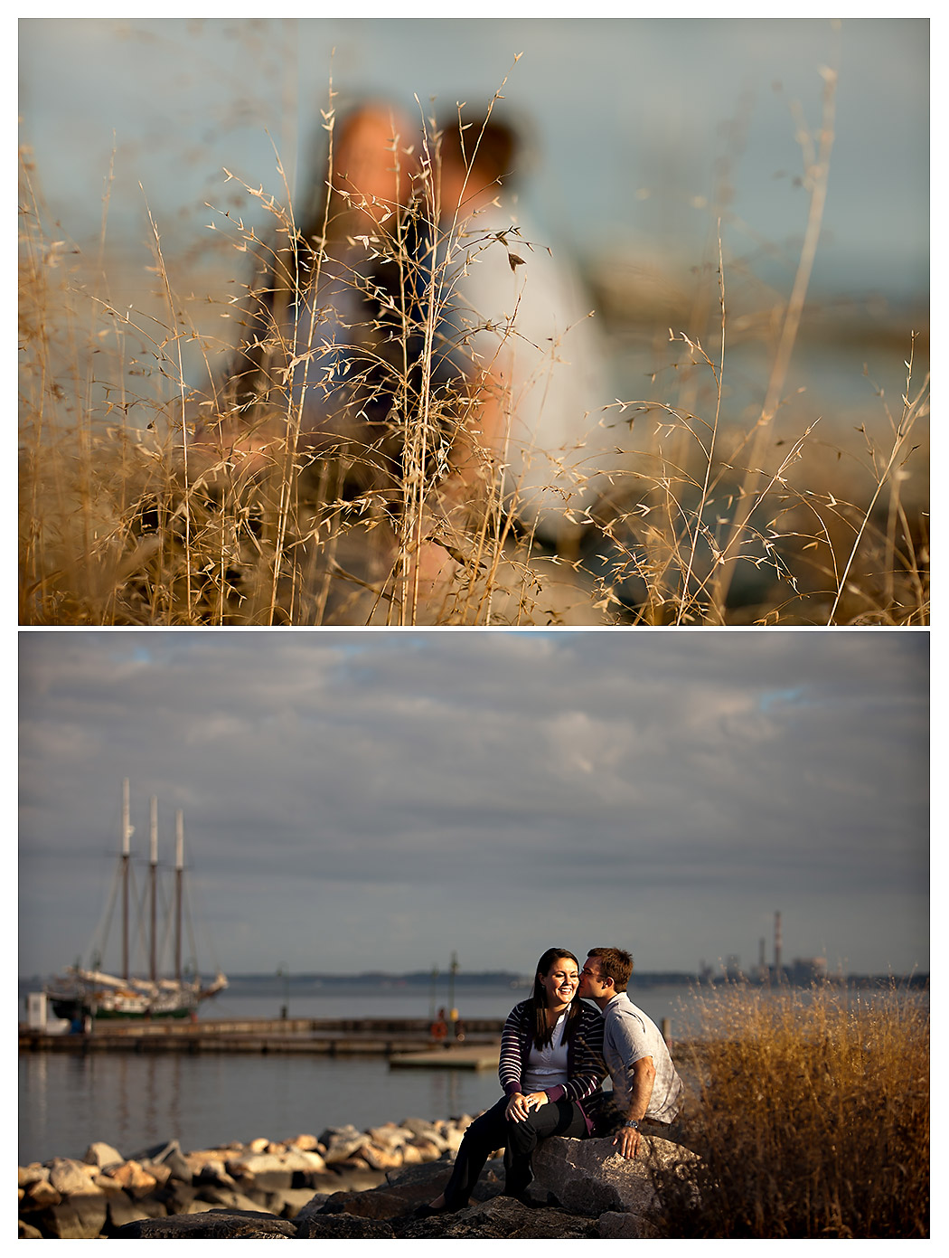 yorktown beach wedding photographers - yorktown beach wedding photographers