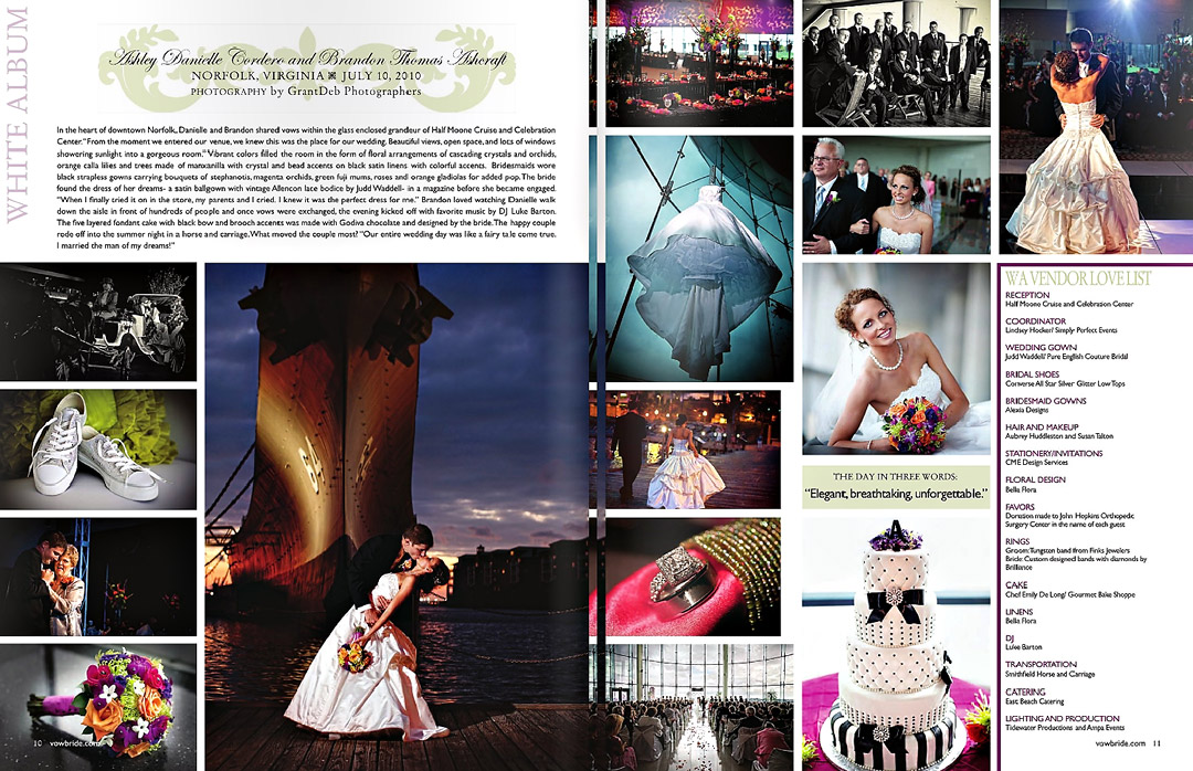 Wedding Magazine Feature - Wedding Magazine Feature