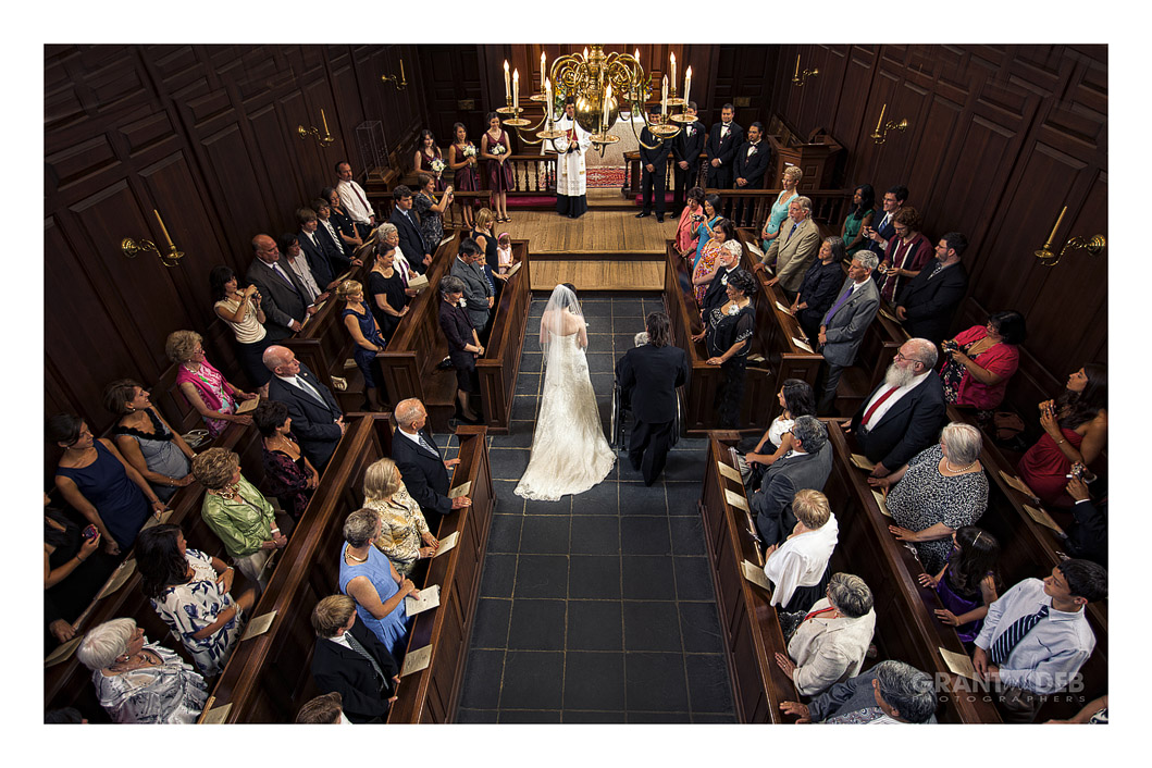 Wren Chapel Wedding Photographers