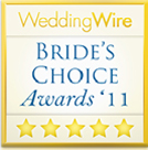 Weddingwire Bride's Choice Award 2011 Winners - Winners of the Weddingwire Bride's Choice 2011 Award