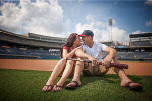 Click to view full Harbor Park Engagement Photography | Norfolk Wedding Photographer [post: 422]