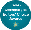 TwoBrightLights Editor's Choice Award '12, '13 and '14 Winner