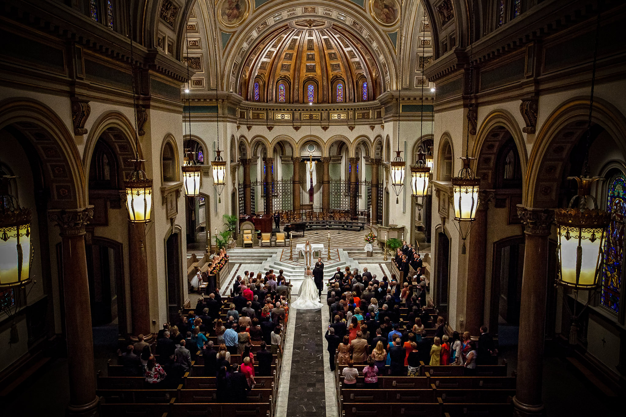 sacred heart cathedral wedding photographers & williamsburg fine art wedding photographer wedding gallery