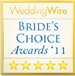 WeddingWire Brides's Choice Award '12 Winner